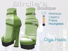 Birdie's Boutique - Olga Heels - Lime