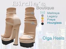 Birdie's Boutique - Olga Heels Peach