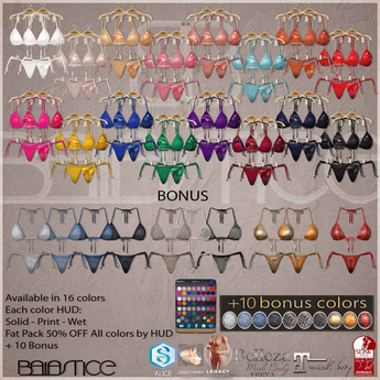 Baiastice_Csaba Bikini-All Colors+10 Bonus