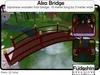 Japanese Small Foot Garden Bridge Red - Aka (Red) Bridge