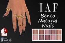 IAF Bento Natural Nails (SLINK-MAITREYA)
