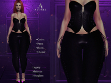 AdoreZ-Hella Black Outfit