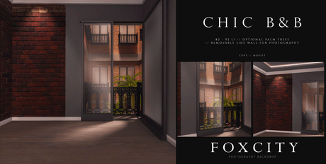 FOXCITY. Photo Booth - Chic B&B