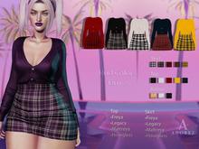 AdoreZ-Annette Outfit Hud Colors*-*