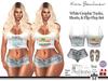 Kona White Graphic Tank & Shorts Outfit