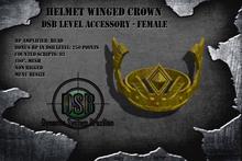 DSB LEVEL Helmet Winged Crown - Unissex v1.0 BOX