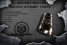 DSB LEVEL Gladiator's Bracers HP Right - Unissex v1.0 BOX