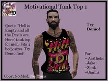 Mens MOT1 Tank Top (ADD ME)