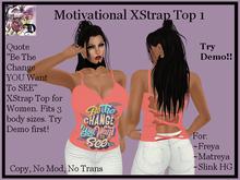 MOT1 XStrap Top (ADD ME)