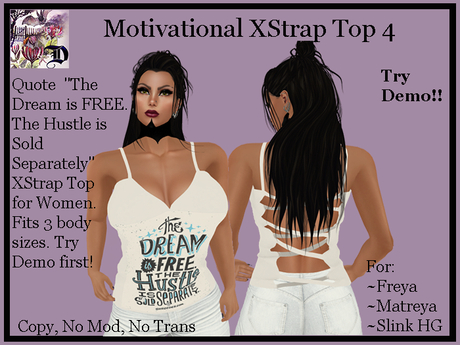 MOT4 XStrap Top (ADD ME)