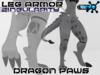 Synth Dragon Paws 2.1 + Singularity Leg Armor
