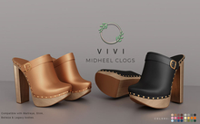 Ohemo - Vivi midheel clogs - FATPACK (add me)