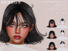 bonbon - mavis bangs pack