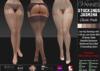 VANNIES Stockings w. Garterb. Jasmina Classic (Applier HUD + BoM) Belleza, Legacy, Maitreya, Slink, Omega + Classic Ava.