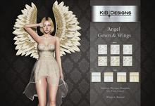 KiB Designs - Angel Gown & Wings FATPACK