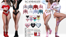 SCANDALIZE. Secrets. BIG FATPACK
