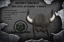 DSB LEVEL Helmet Vikings - Unissex v1.0 BOX