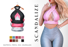 Scandalize. SANIE FATPACK TOPS