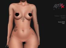 ONE 2K  -  Tattoo xoxo/ body- upper - BOM system (add/touch) (