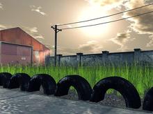 Fence Tire - Mesh - 1 Prim each