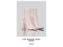 JACOBS - Square Boot . Pearl (Robbery Collection)