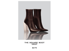 JACOBS - Square Boot . Deep (Robbery Collection)