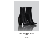 JACOBS - Square Boot . Jet (Robbery Collection)