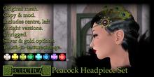 Eclectica Peacock Headpieces