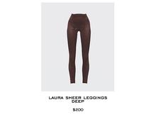 JACOBS - Laura Sheer Leggings . Deep