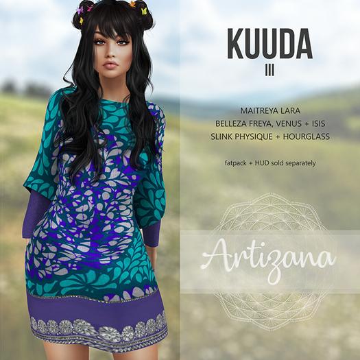 Artizana - Kuuda III - Tunic Dress [add/wear]