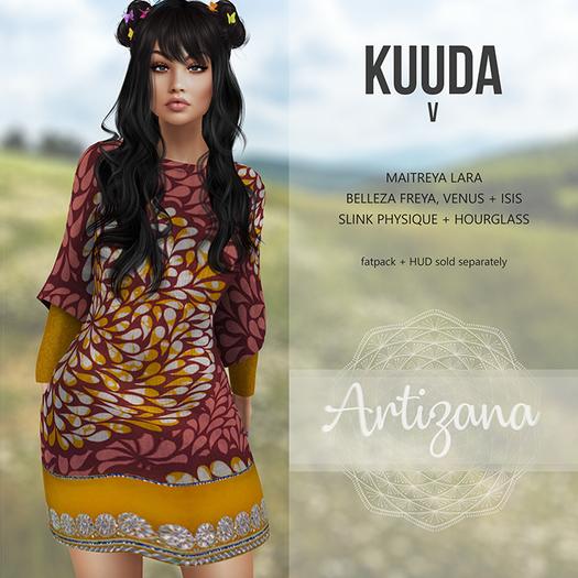 Artizana - Kuuda V - Tunic Dress [add/wear]