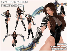 -Aeon- Swords Warrior Pose Pack 08  fight bento animation pose poses static fatpack ao