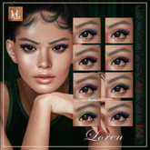 "MRM ""Loren""Eyes Makeup for Lelutka Evolution"