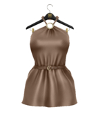 TO.KISKI - Sheryl dress  / Nude (add me)