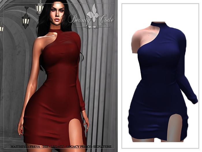 *Beauty Code* - Dress Nelly Blue - Unpack