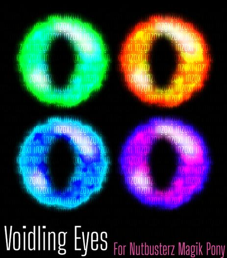 [inZoxi] - Voidling Eyes Set for NB Magik Pony