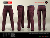 A&D Clothing - Pants -Joel- Burgundy