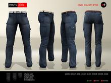 A&D Clothing - Pants -Joel- Navy