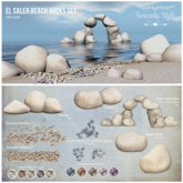 Serenity Style- El Saler Beach Rocks Set [add]