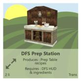 DFS Prep Station