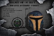 DSB LEVEL Helmet SW - 01 Blue - Unissex v1.0 BOX