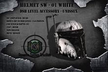 DSB LEVEL Helmet SW - 01 White - Unissex v1.0 BOX