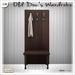 [V/W] Old Doc's Wardrobe - Vintage coat hanger with bench, 1 LI - Mesh furniture