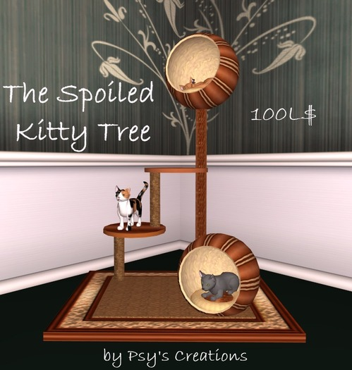 The Spoiled Kitty Tree (Boxed) - Psy's Creations
