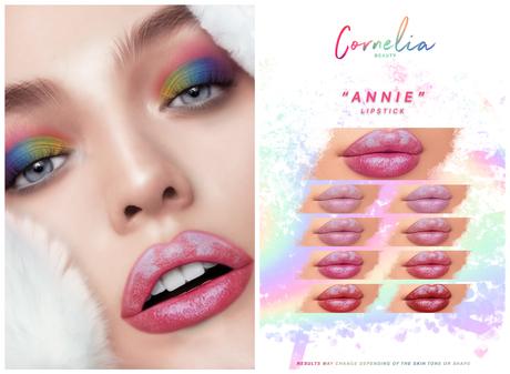 Cornelia Beauty: Annie Lipstick (Genus)