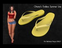 Ohana Endless Summer Flipflops Fatpack [Belleza] (WEAR TO UNPACK)