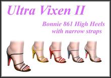 Ultra Vixen - Bonnie 861 High Heels with narrow straps