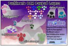 (mc) Puchimono BOM Pawpad Layers 1.1