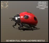 GD MESH FULL PERM LADYBIRD BEETLE