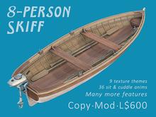 Skiff - Small Drivable 8-Person Boat